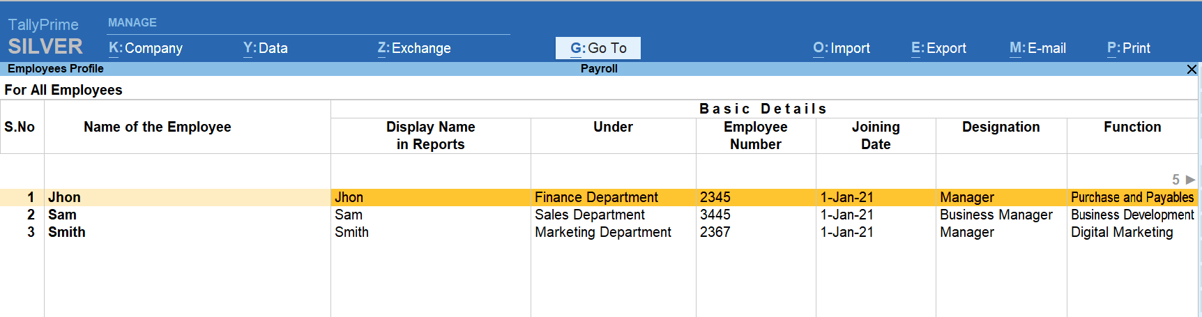create multiple employee groups by using payroll software in Indonesia