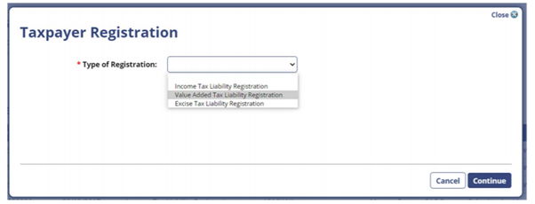 Oman VAT registration guide for persons with CRN