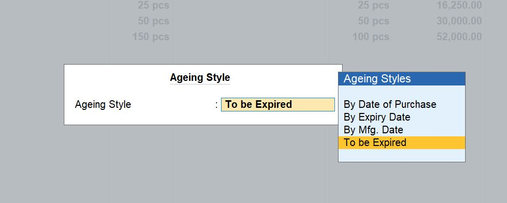 Ageing style