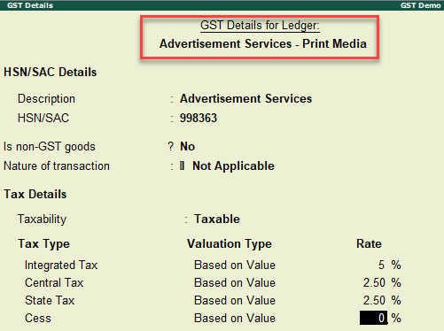 GST details 1
