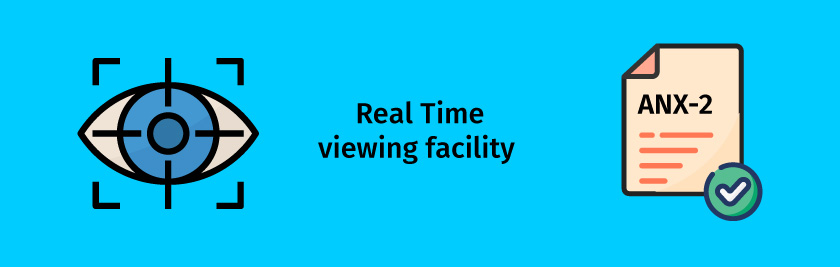 Viewing facility of Invoices