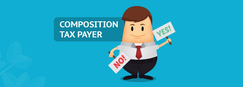 how to check whether supplier is composition tax payar